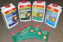 Химические средства для очистки выгребной ямы