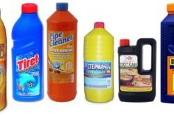 Химические препараты для прочистки канализации