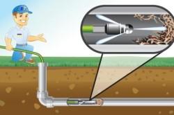 Схема работы аппарата гидродинамической промывки