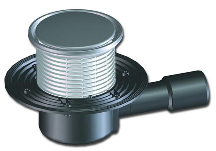 «Сухой» гидрозатвор для канализации