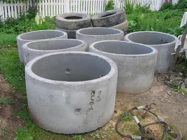 Бетонные кольца для септиков и колодцев